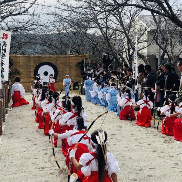 新田神社武者祭