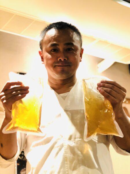 「酒庵朋」ご主人の安藤朋光さん